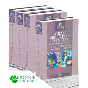 Biblioteca Esencial Enciclopedia Temática 4 Vols Con 2 Cd