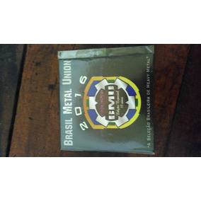 Cd - Bmu - Brasil Metal Union - Edição Especial - 10 Anos