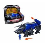 Power Ranger Azul + Dino Zord Triceratops