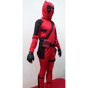 Disfraz Estilo Deadpool Halloween Niños Adultos C/accesorios