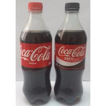 Lote De 2 Botellas Coca Y Zero 591ml Sin Abrir (origen Chile