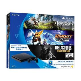Playstation 4 Con 3 Juegos Físicos De Regalo!!! Oferta