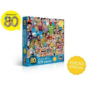 Quebra-cabeça 500 Peças - Turma Da Mônica - Toyster