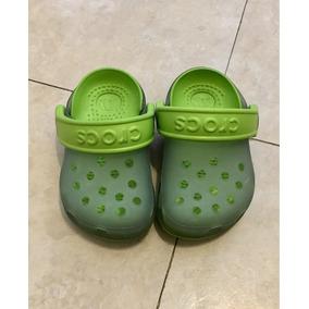 Crocs Para Bebé! Verdes 10 Cm. Súper Buenos. Envío Gratis