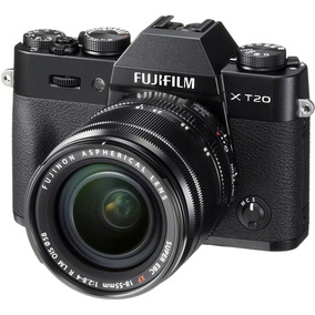 Camera Fuji Mirrorless Xt-20 + Lente 18-55mm F/2.8-4