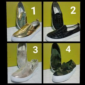 Zapatos Dama Moda Colombiana Suela Alta Comodos