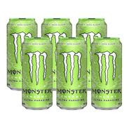 Bebida Energizante Monster Energy Ultra Paradise 473ml X6