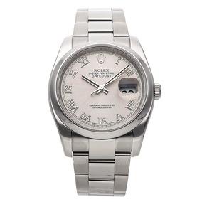 96e84e42a45 Relógio Rolex Datejust 36mm 2015 Silver R - 220866