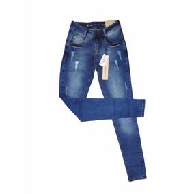 Calça Jeans Feminina Calvin Klein Rasgadinha Top!