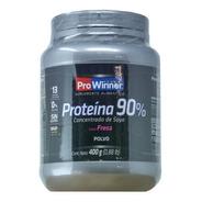 Proteina De Soya 90% (fresa 400 Gr) Prowinner