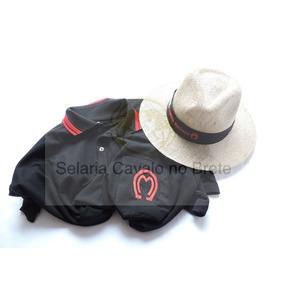 Conjunto Do Peão De Rodeio Camisa Mangalarga+chápeu Oferta