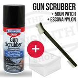 (kit) Gun Scrubber Solvente + 50 Patchs + Escova Nylon
