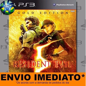 Resident Evil 5 Gold Edition - Ps3-psn- Pronta Entrega!!!