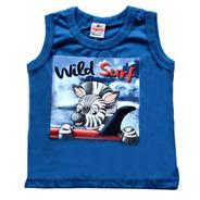 Camiseta Infantil Meia Malha Wild Surf - Brandili