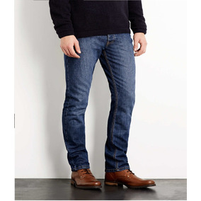 Pantalon Skinny De Mezclilla Caballero