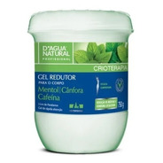 Gel Redutor C/ Cafeína 750 Gr Dagua Natural