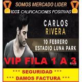 Entradas Carlos Rivera Vip Fila 1 A 6 Luna Park