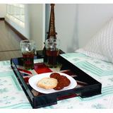 Bandeja Refeições Prato Café Manhã Cama Inglaterra Mdf Luxo