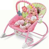 Silla Fisher Price Mecedora Niña Bebé Recién Nacido