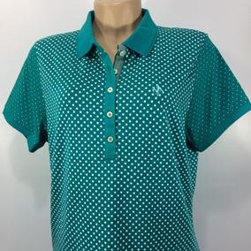 Camisa Polo Feminina Dudalina Gola Trabalhada Original