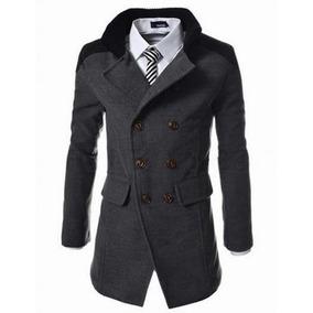 Sacos Abrigos Russian Slim Fit Coat Moda Asiatica Envio Grat
