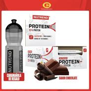 Barra Proteica  Nutrend Chocolate (24 Unidades) + Regalo