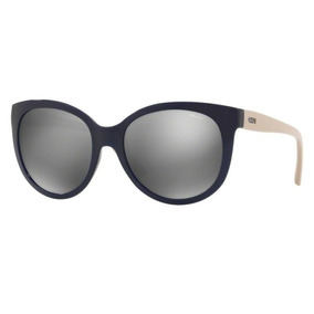 Oculos Sol Grazi Gz4019 F342 56 Azul Nude Lt Cinza Espelhada 771330e0be