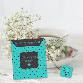 Convite Personalizado Chá De Cozinha, Chá De Bebe (10 Unid.)