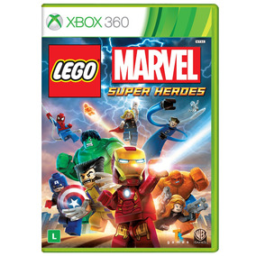 Jogo Lego Marvel: Super Heroes Xbox 360 (x360) - Wb Games