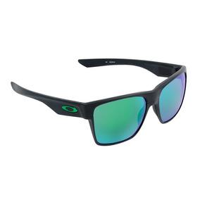 Óculos Masculino Oakley Two Face Xl Matte Black Jade Iridium