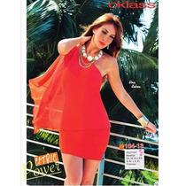 Vestido Cklass Naranja Otoño Invierno 2015 Nuevo