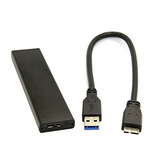Cablecc Usb 3.0 To 17+7pin Ssd Hdd Hard Disk Cartridge Drive