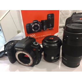Maquina Fotografica Sony Alpha200