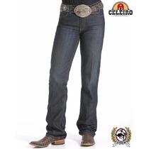 Calça Jeans Country Feminina Importada Cinch Jenna Slim Fit