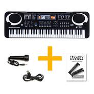 Organo Piano Teclado Musical Infantil Microfono Mq6106