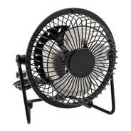 Ventilador Usb Portátil 20cm Metálico Ajustable / Silencioso