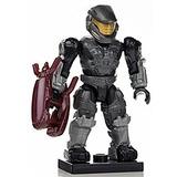 Ha14-b1 Halo Wars Mega Bloks Solta Mini Preto Unsc Spartan M