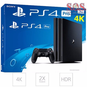 Playstation 4 Ps4 Pro 4k Consola 1tb + Joystick Original