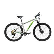 Bicicleta 12v Absolute Wild 29 Prata/verde Trava No Guidão