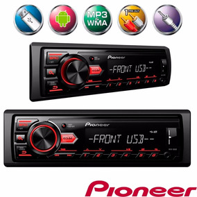 Som Automotivo Media Pioneer Mvh-98ub Usb-substitui Mvh-88ub