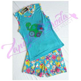 Pijamas Para Dama En Conjunto De Algodon Al Mayor