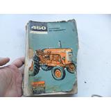 Fiat 450 Standard Tractor Antiguo 1966 Despiece Manual