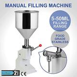 Liquido De Llenado Máquina Manual Embotellado Ajustable