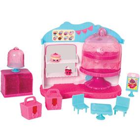 Playset Café Rainha Cupcake Shopkins Dtc