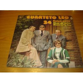 Cuarteto Leo 34 Aniversario Lp Argentina Cuarteto Cumbia