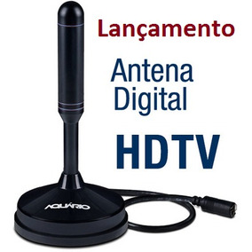 Antena Interna Tv Digital Hdtv Dtv-100 Aquario 100% Original