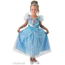 Disfraz Disney Princess Cinderella # S 3-4 Años Zona Devoto