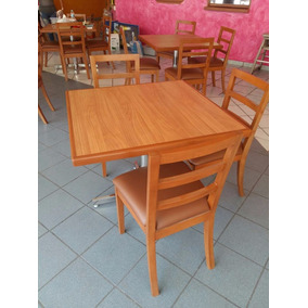 Mesa Con 4 Sillas Para Restaurante