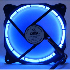 Cooler Fan 120mm Com Led Azul Dx-12f