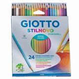Lapices De Color Giotto Stilnovo Acquarell Acuarelables X 24